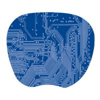 Kensington Mouse Pad- 1mm Blue 1