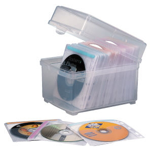 Kensington CD Box and Sleeves (PK 100) 1