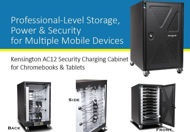 Kensington AC12 Charge & Secure Cabinet